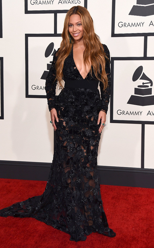 Beyoncé at grammy 2015