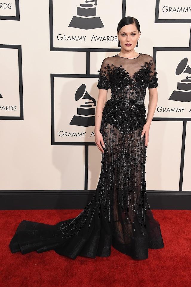 Jessie J at Grammy's 2015