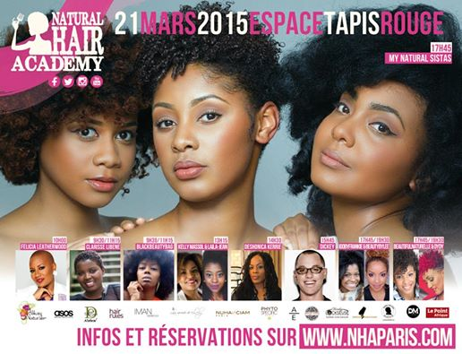 Natural Hair Academy Paris 2015 (NHA Paris)