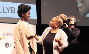 Felicia Leatherwood at the Luv and Learn Your Beauty event in Amsterdam