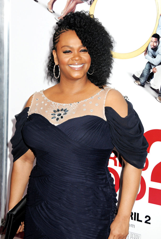 Jill Scott - natural hair - styled by Felicia Leatherwood