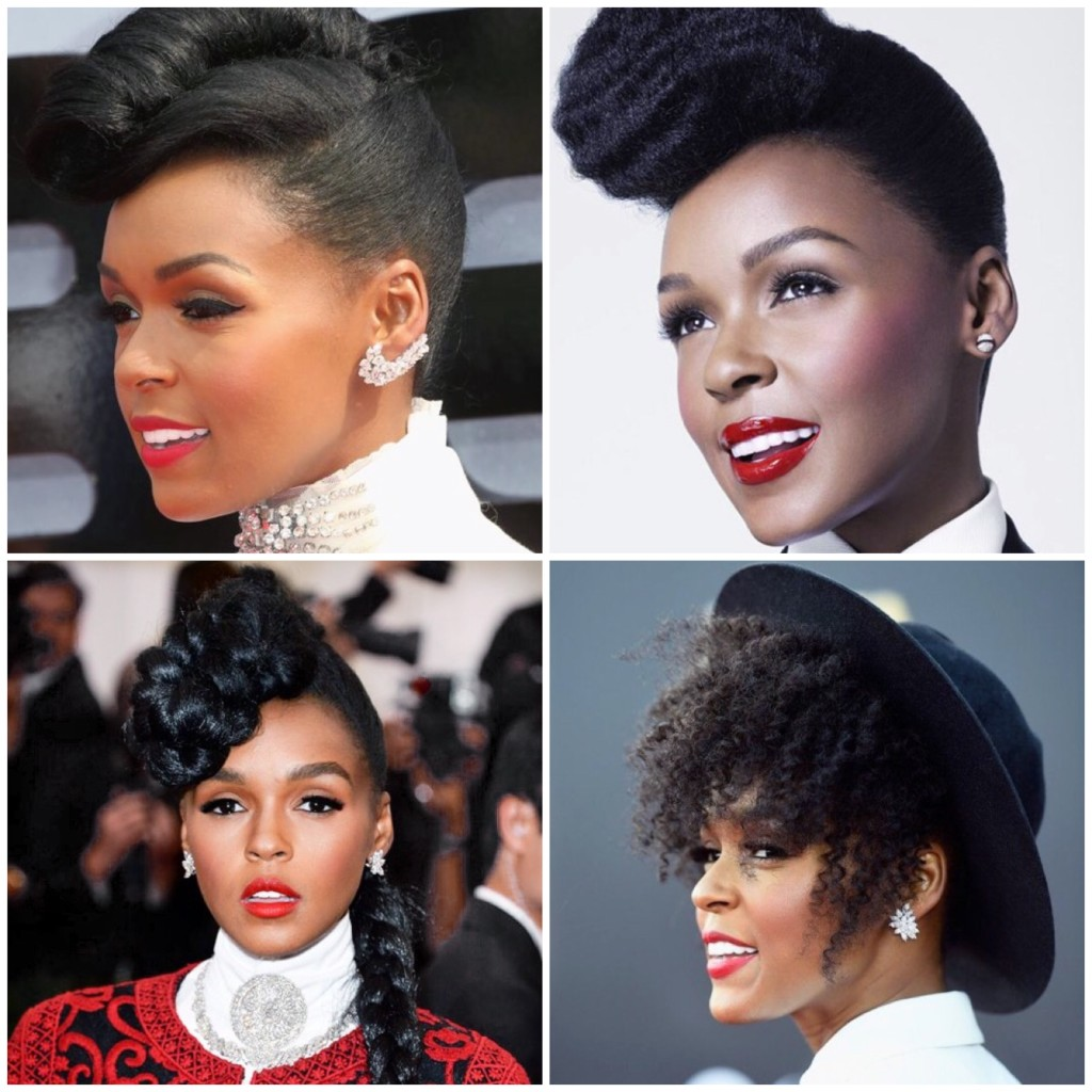 Certified Stylish: Janelle Monáe - Natural Hairstyles
