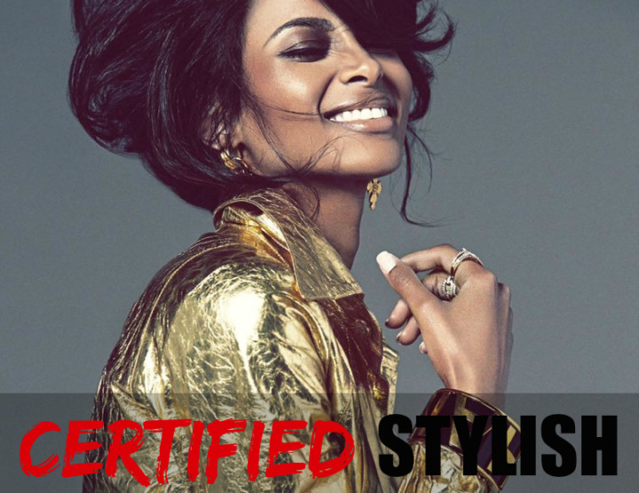 CERTIFIED STYLISH: Ciara
