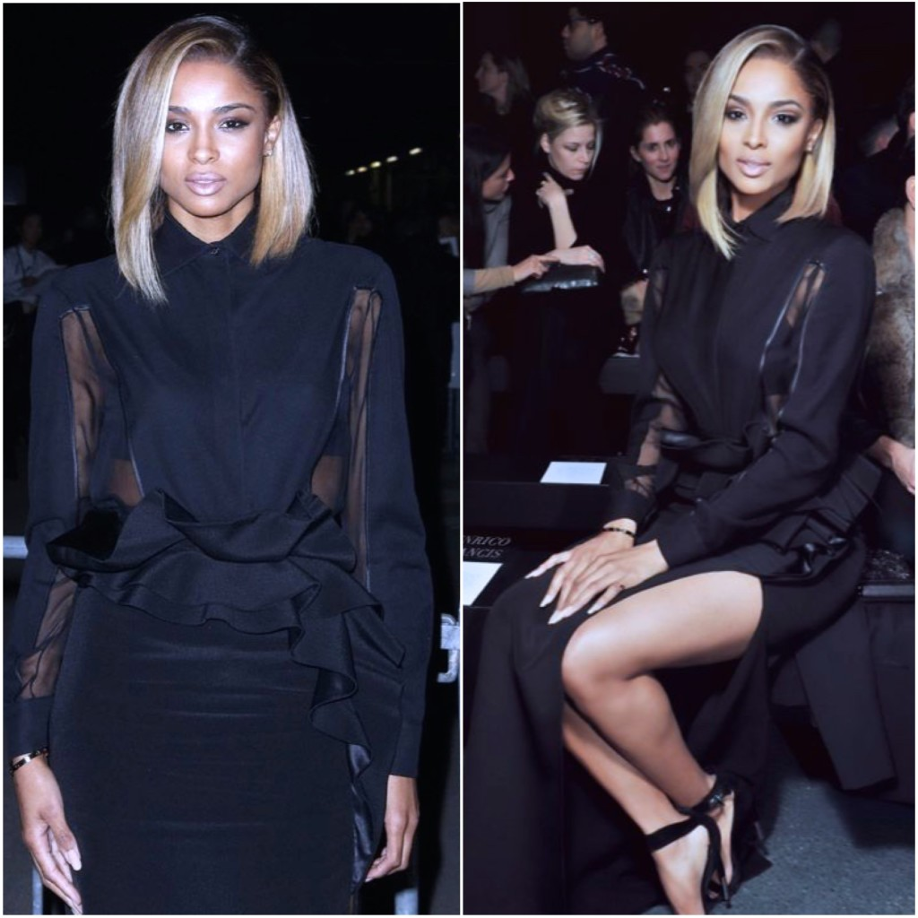 Certified Stylish: Ciara Front row