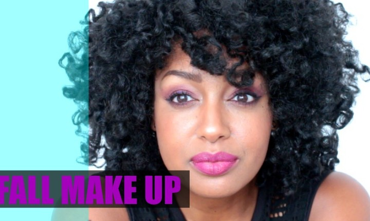 VIDEO | PURPLE FALL MAKE UP LOOK