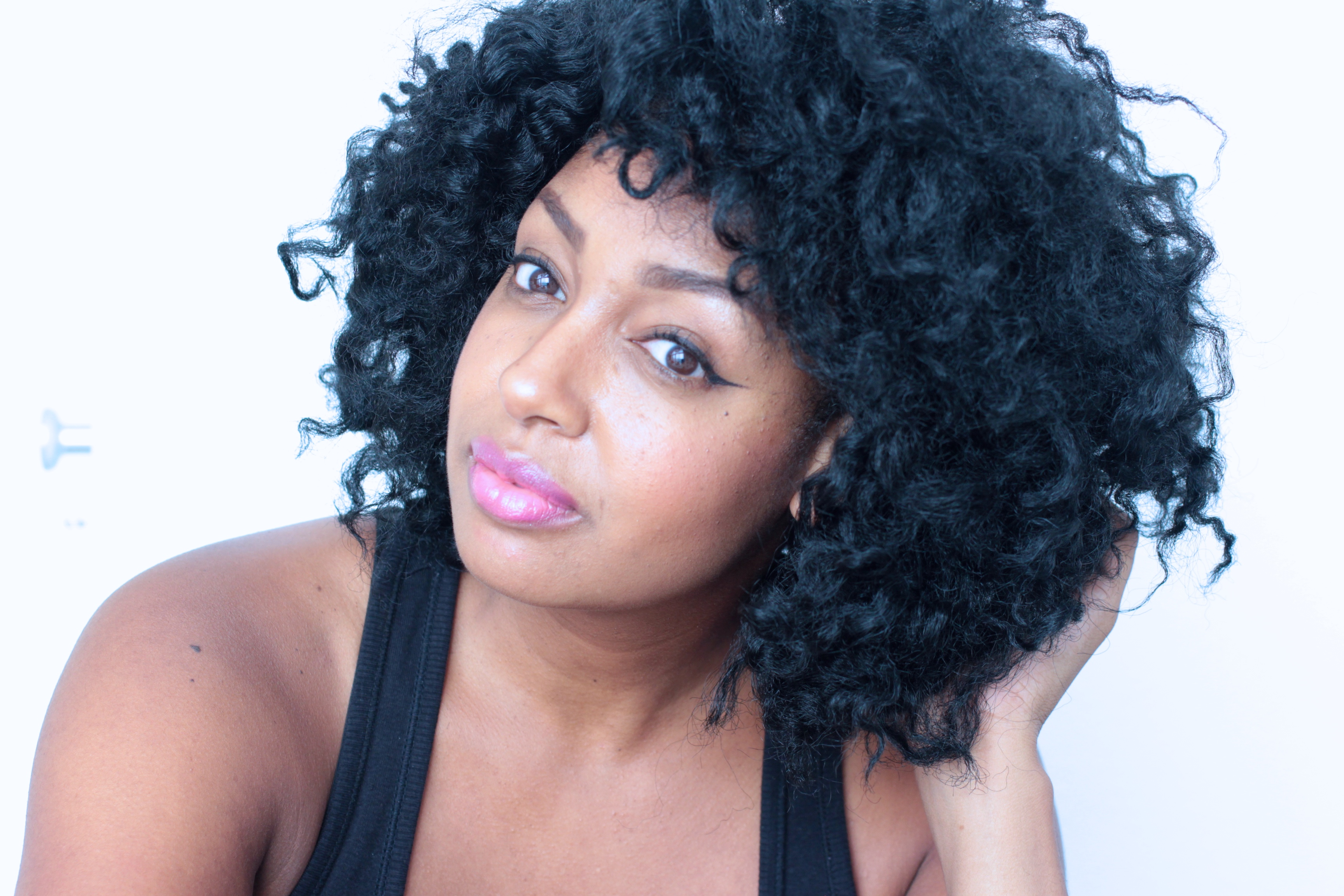 Styled in Black - Hooked on crochet braids -