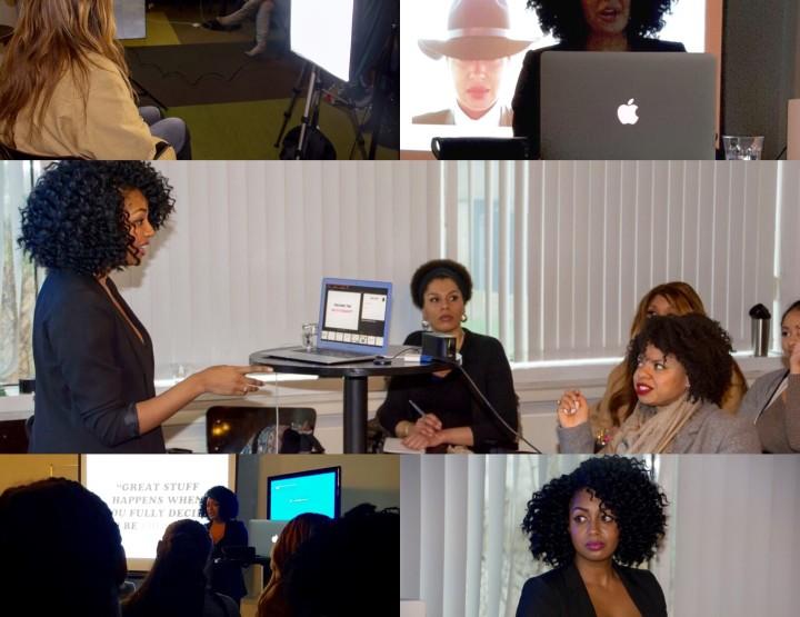Styled in Black Workshop   From Blogging to Vlogging